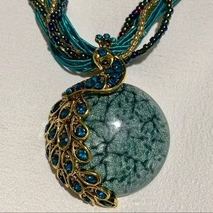 Jewelry - Bohemian Style Peacock Necklace